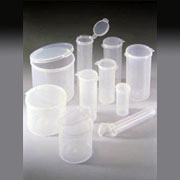 Bottles, Jars and Tubes sells Lavials® Hinged Lid Containers (Polycons).